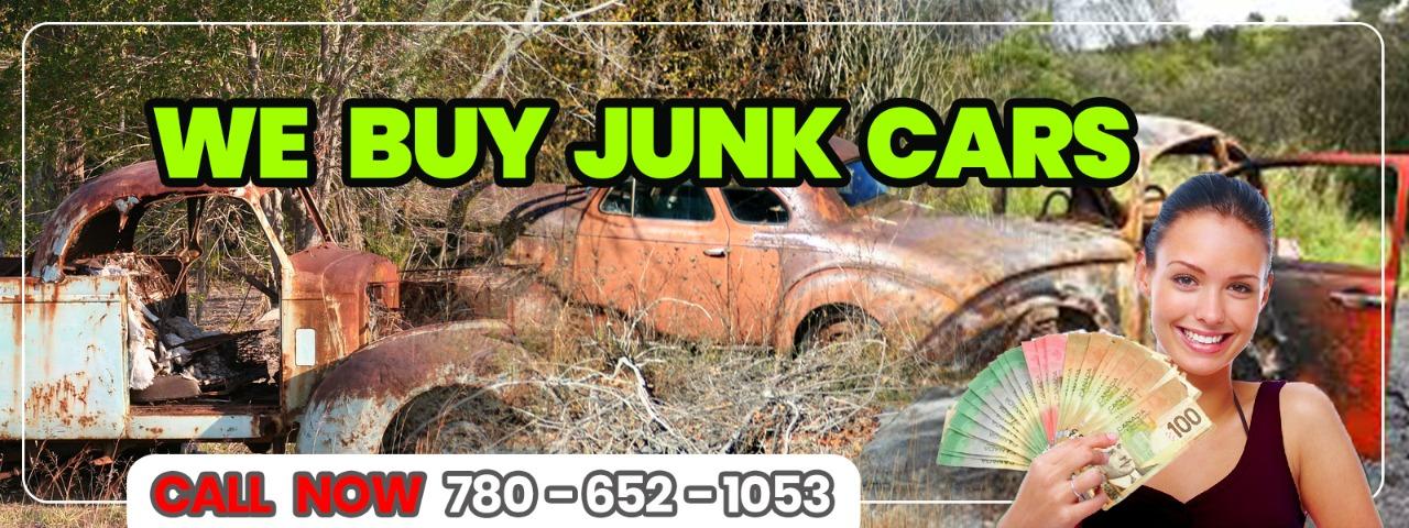 Junk Car Buyers in Edmonton Alberta