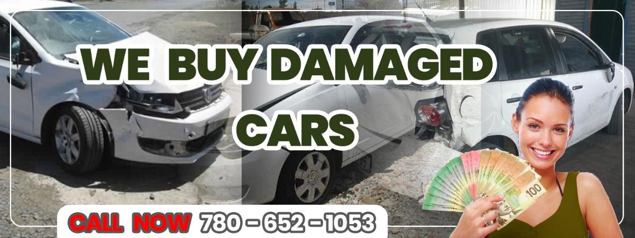 We Buy Damaged Cars in Edmonton